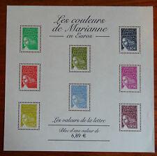 BLOC TIMBRES 2004 LES COULEURS DE MARIANNE