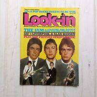 LOOK-IN Magazine 6th Oct 1979 No 41 The Jam Weller Mod Alan Hanson Liverpool