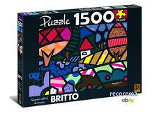 ROMERO BRITTO LANDSCAPE PUZZLE 1500 PCS(SIZE: 33 in x 24 in) *NEW*BRAZIL