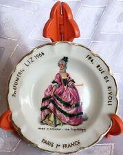 1715 Robe d'apparat Limoges Goumot-Labesse Parfumerie Liz Paris Gold Plate