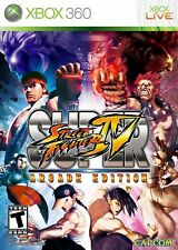 Super Street Fighter IV -- Arcade Edition (Microsoft Xbox 360) BRAND NEW