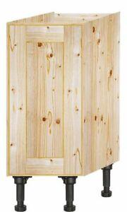 Handmade Bepoke made to measure solid Pine Kitchen unit 300 mm Ref 3