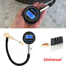 Digital Car Motorcycle Tire Air Bleeder Deflator Wheel Pressure Gauge Meter PSI