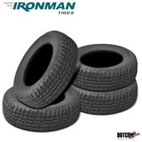 4 X New Ironman All Country A/T 265/75/16 116T All Terrain Truck SUV Tire