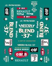 #3 NESCAFE BTCC Renault 1999 1/43rd Scale Slot Car Decals