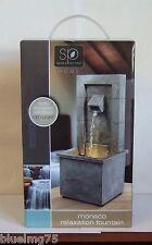 Sarah Peyton Monaco Relaxation Fountain Softly Illuminates w/ Warm LED Light 416