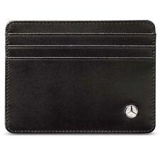 Genuine MERCEDES Black Business Men's Credit Card Wallet B66951619