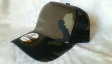 1X - New Era 9Forty Snapback Trucker Hat Cap Blank { CAMOUFLAGE } NE 9FORTY