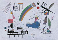 Wassily Kandinsky Fraicheur Poster Reproduction Paintings Giclee Canvas Print