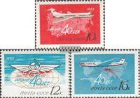 Sowjet-Union 2720-2722 (kompl.Ausg.) gestempelt 1963 Fluggesellschaft Aeroflot