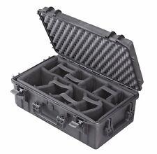 Outdoor Case CAM 520x290x200 inkl. Facheinteilung Foto-/Kamerakoffer wasserdicht