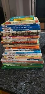 LOT OF 35  DR SEUSS CHILDRENS BOOKS HARDCOVER YERTLE THE TURTLE, SLEEP BOOK