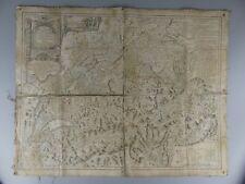 CARTE DE LA SUISSE 1769 PAR FRANCOIS GRASSET LIBRAIRE ET IMPRIMEUR A LAUSANNE