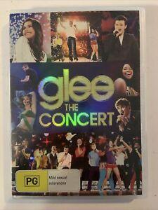 Glee - the concert (2011, DVD, Region 4) Lea Michele, Naya Rivera.