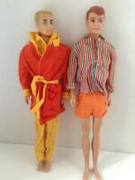 MATTEL VINTAGE ORIGINAL 1960's KEN And ALLAN Dolls With Graduation Outfit Plus