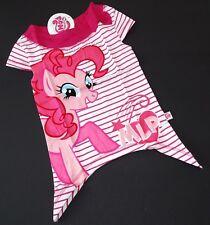 My Little Pony Tunika Zipfelshirt T-Shirt Weiß Pink Gr. 116/122  NeU
