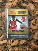 2017 Zion Williamson Rookie Card Gold Only 2000 Made MINT INVESTMENT 🔥🔥🏀🏀