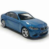 BMW M2 Coupe 1:43 Model Car Diecast Gift Toy Vehicle Kids Collection Pull Back