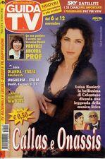 rivista GUIDA TV ANNO 2005 NUMERO 45 LUISA RANIERI