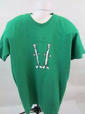 Let's Get Hammered T-Shirt Green Large No Tags Pre-Worn