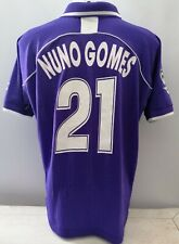 Match worn shir Nuno Gomes Fiorentina no Juventus Roma Lazio Napoli  Milan Inter