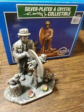 Silver-plated & Crystal Emmett Kelly Limited Edition 9203