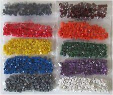 Cable Marker Packs (100pcs) CSA 0.75 - 4mm² Chevron Cut Colour Coded