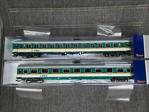 Roco aus 74092 Alex Wagenset 2 tlg. Schnellzugwagen 1. und 2. Klasse