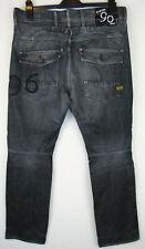 G-Star Raw Elwood Heritage Embro Narrow W34 L32  Mens Grey Cinch Denim Jeans