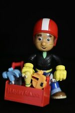 "Disney Handy Manny 8"" Toy Figure Doll w/ Toolchest & 6 Tools!"