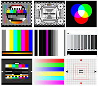 AU TV Test Card / Video Pattern Generator & Test Tones DVD: PAL, NTSC & SECAM