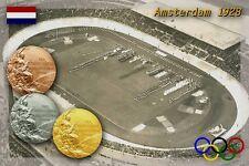 Amsterdam 1928 Olympic Medals. Olympic Stadium, Amsterdam, Netherlands (Holland)