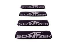 AC Schnitzer Silikon Aufkleber 4 Stück BMW M3 M5 M6 schwarz + Gratis Geschenk