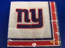 New York Giants NY NFL Pro Football Sports Banquet Party Paper Luncheon Napkins