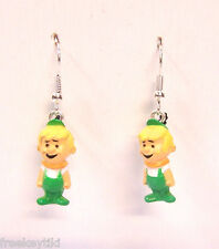 "The Jetsons Elroy Jetson Geek Nerd Boy 1"" Mini Figures Figurines Dangle Earrings"