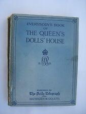 Book of the Queen's Doll House  Original Buch Puppenhaus der Königin v 1924