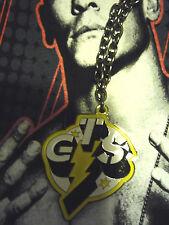 PENDENTIF CATCH WWE CM PUNK GTS GO TO SLEEP COLLIER/PENDANT