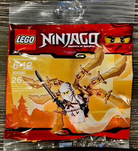 Lego Ninja Glider (30080) New & Sealed Polybag-Minifigure Zane-Ninjago!! Retired