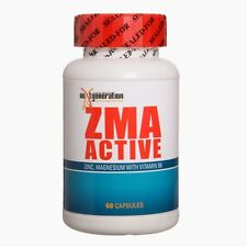 ZMA Zinc Magnesium Vitamin B6 1 X ZMA ACTIVE 60 CAPSULES Testosterone booster