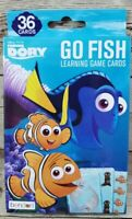 NEW GO FISH Card Game, Disney Finding DORY Series, 36 cards Learning Game