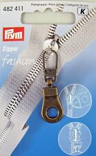 Prym Fashion Zip Puller / ZIPPER Pull - Choose From 16 Styles Antique Brass Finish 411
