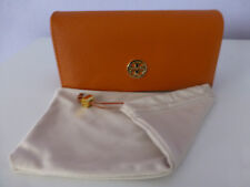 TORY BURCH  Sunglasses Case + Softcase Eyeglasses Faux Leather Large New