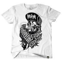 Metal Mulisha Men's Pray Short Sleeve T Shirt White Clothing Skull Tees