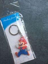 New lot 20pcs Super Mario 3D PVC Rubber Toys gift Key chain Keyring