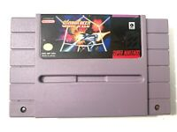 WarpSpeed Super Nintendo SNES Game TESTED Working & Authentic!