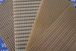 Leiterplatte Platine 100x50mm Streifen, Punkte (50x100mm)