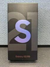 Factory Sealed Samsung Galaxy S21 5G SM-G991U - 128GB - Phantom Violet (Verizon)