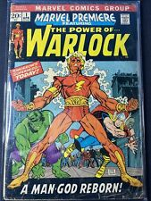 Marvel Premiere #1 Featuring The Power Of Warlock Key Issue!!!