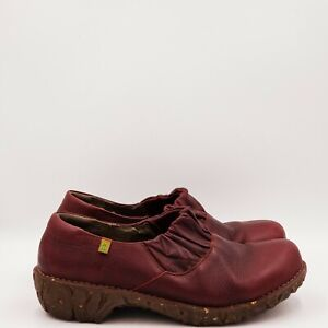El Naturalista Women's Clogs Size 10.5 - 11 Medium Red A77