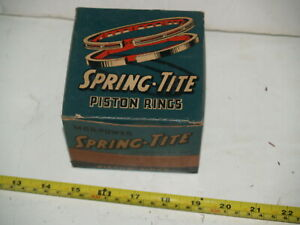 "NOS Continental Spring Tite Piston Rings 1929-1932 Chevrolet 6 - 3 5/16"" - .020"